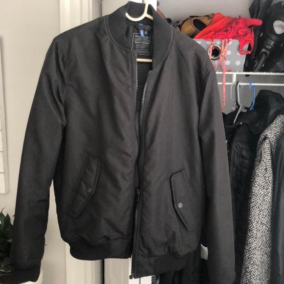 b584eda2d Men's Black Bomber Jacket (like new medium)